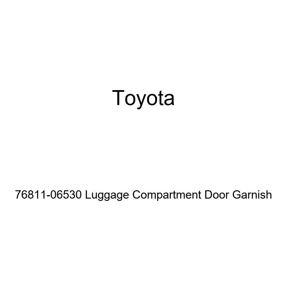 Toyota 76811-06530 Luggage Compartment Door Garnish