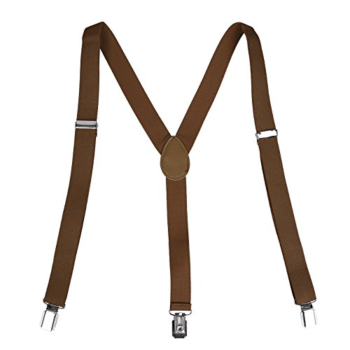 HDE Y Back Suspenders Adjustable Elastic