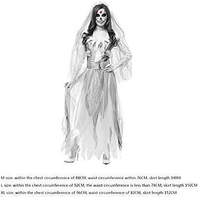 Demino Las Mujeres de Cosplay del Traje de Halloween del la Novia ...
