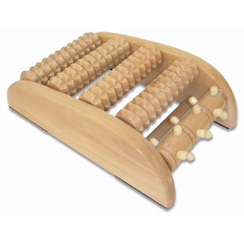 Discover Bargain Yomeste Wooden Spindle Foot Massager