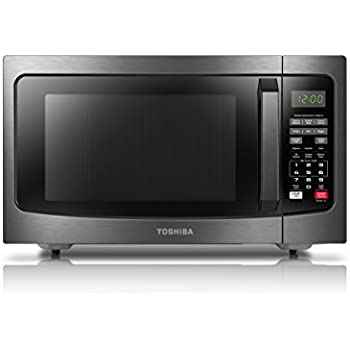 Toshiba EM131A5C-BS Microwave Oven with Smart Sensor, 1.2 Cu.ft, 1100W