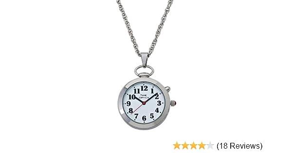 Amazon timeoptics womens talking silver tone pendant alarm amazon timeoptics womens talking silver tone pendant alarm watch watches aloadofball Gallery