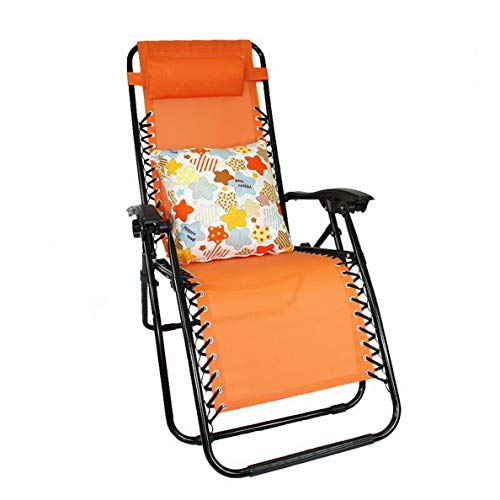 (Kaputar Lounge Chair Recliner Patio Oudoor Chair+2in1 Pillow and Blanket Combo Set   Model CMPNGCHR - 40   2in1 Blanket/Pillow Design - Star)