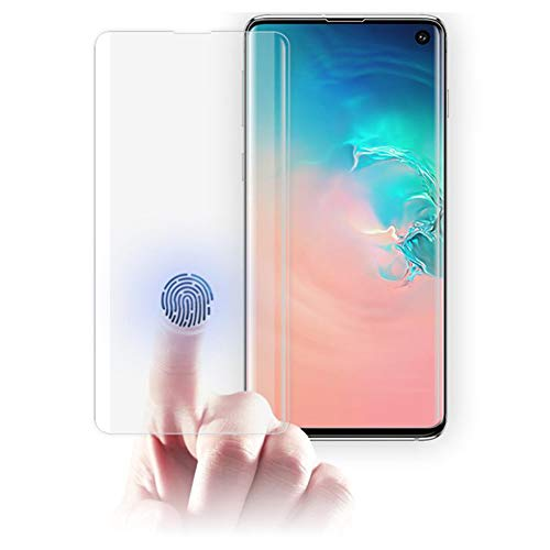 Screen Protector Fit for Samsung Galaxy S10 by Haobuy