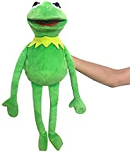 Vurezza Kermit Frog Puppet, The Muppets Show, Soft Hand Frog Stuffed Plush Toy for Boys and Grils Presents - 2