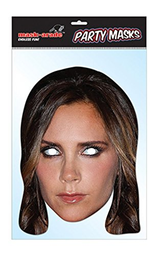 Victoria Beckham Celebrity Face Mask (Celebrity Face Masks)