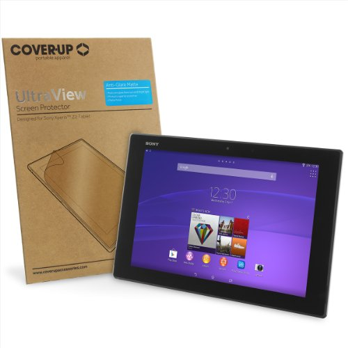 Cover-Up UltraView Sony Xperia Z2 10.1-inch Tablet Anti-Glare Matte Screen Protector