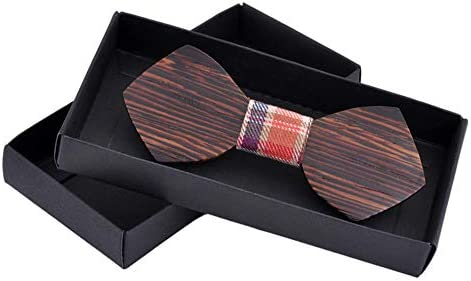 Kuingbhn-AC Corbatas de Lazo para Hombre Pajarita de Bowtie for ...