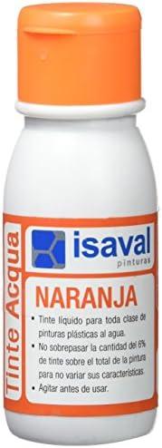 Isaval 101139/812 - Tinte al agua de 50 ml. naranja: Amazon ...