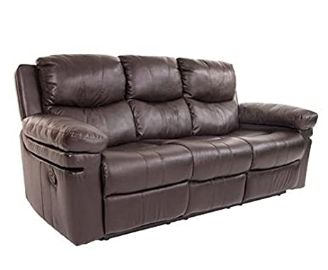 Amazoncom Klaussner CALVINRS Calvin Reclining Sofa With Table Full - Table pads houston