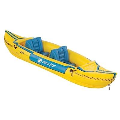 2000003414 Sevylor Yellow Tahiti Classic Inflatable Kayak