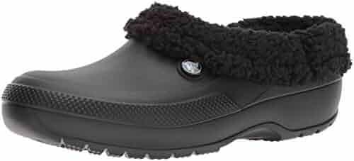 Crocs Men's and Women's Classic Blitzen III Fuzz Lined Clog Shoe, Great Indoor or Outdoor Warm and Fuzzy Slipper Option