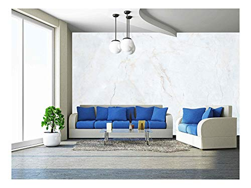 wall26 - Marble Texture Background - Removable Wall Mural | Self-Adhesive Large Wallpaper - 100x144 inches