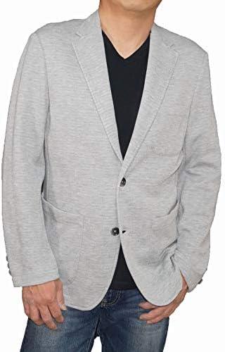コムサイズム COMME CA ISM カットジャケット グレー テーラードジャケット メンズ 47-22JL04