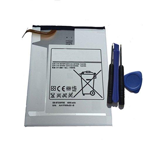 - aowe New 3.8V 4000mAh Battery For Samsung Galaxy Tab 4 7.0 SM-T230 SM-T230R SM-T230NU GH43-04179A AAaD115pS/4-B SP4073B3H with Installation Tools