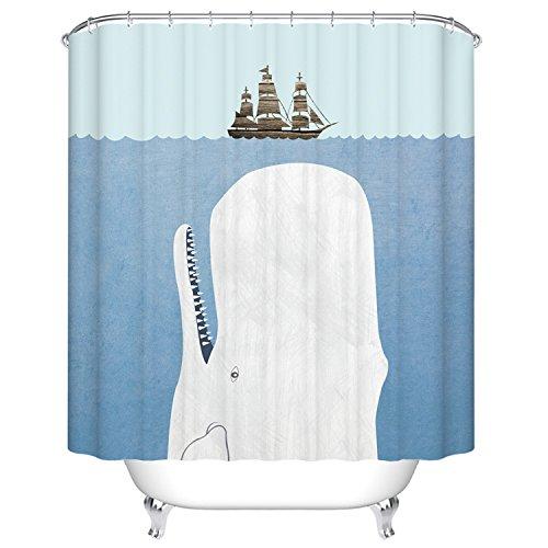 whale shower curtain - 2
