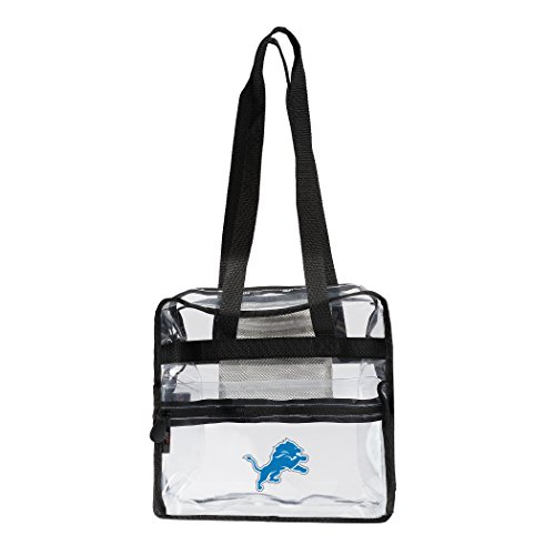 - The Northwest Company NFL Detroit Lions Zone Stadium Friendly Tote Clear Zone Stadium Friendly Tote, Clear, One Size