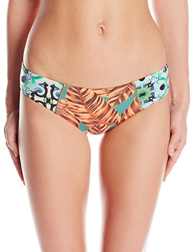 Maaji Women's Slims Bliss Signature Cut Bikini Bottom, Multi, M