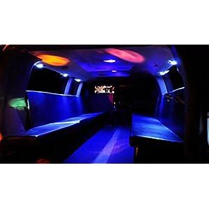 12V LED Interior Light Kits Multicolor, Greenclick Remote Control Strip LED Lighting 72 LEDs Ceiling Lights Kit For F150 Lwb Van Trailer Lorries Sprinter Ducato Transit Boats Vw, Waterproof