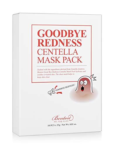 Goodbye Redness Centella Mask Pack (Box of 10)