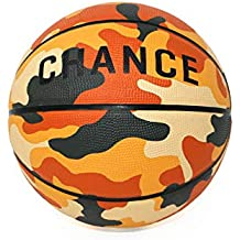 Chance Premium Rubber Outdoor Basketball (Sizes: 5 Kids/Youth, 6 Womens, 7 Official) - Best Outdoor, Black-Top, Concrete, Practice & Playground Courts