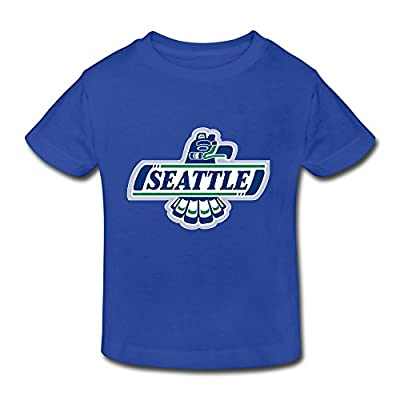 Tavil SEATTLE THUNDERBIRDS Little Boys Girls Casual T Shirt For Toddlers
