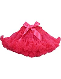 Sunny Fashion Girls Dress Tutu Dancing Skirt Party Pageant Hot Pink