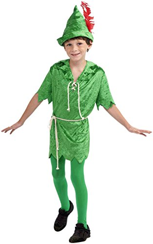 Forum Novelties Peter Pan Costume, Child's Large - Peter Pan Costumes Mens