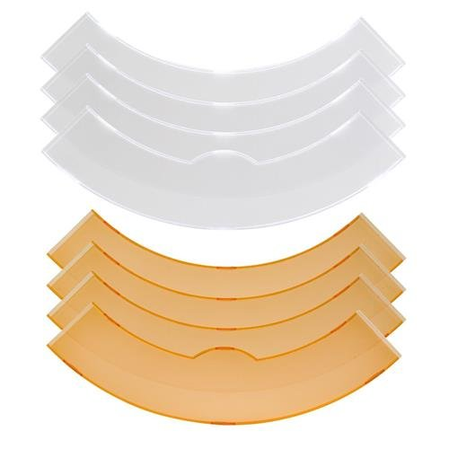 Flashpoint 13'' White and Yellow Color Filter Set for the 13'' Fluorescent or LED Ring Light by Flashpoint