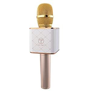 XCSOURCE HT-OE0002 Q7 Portable Wireless Karaoke Microphone Handheld Condenser Microphone with Speaker for iPhone/iPad/iPod/Samsung HTC Lumia Smartphones TH440