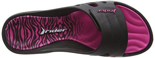 Rider Key Viii Damessandalen Zwart / Roze M3 / M4