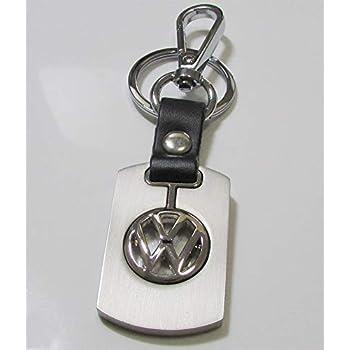 Amazon.com: Volkswagen Rosa Rectángulo Llavero de piel con ...