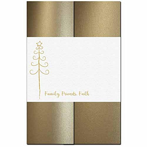 Family Friends Faith - Holiday Tree Invitation Kit - 80 Pack by ISO