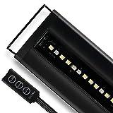 Luz LED de Agua Dulce por satélite para Acuario de Corriente USA, Negro, 18 to 24-Inch