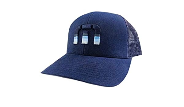 NEW Travis Mathew Bogan Blue Nights Adjustable Snapback Golf Hat Cap ... 55aaea2ca9df