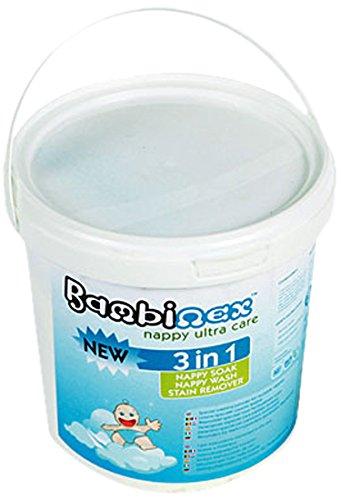Bambinex 031856 - Detergente especial para pañales, color blanco
