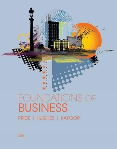 Foundations of Business (Standalone Book) cover