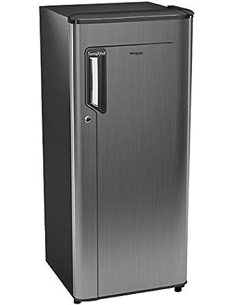 Whirlpool 215 L 4 Star Direct Cool Single Door Refrigerator(230 IMFRESH PRM 4s GREY TITANIUM (N), Grey Titanium)