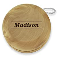 Dimension 9 Madison Classic Wood Yoyo with Laser Engraving