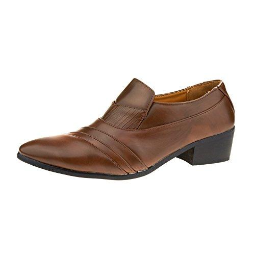 London Cuña Footwear Con Sandalias Marrón Hombre rxr14Tt