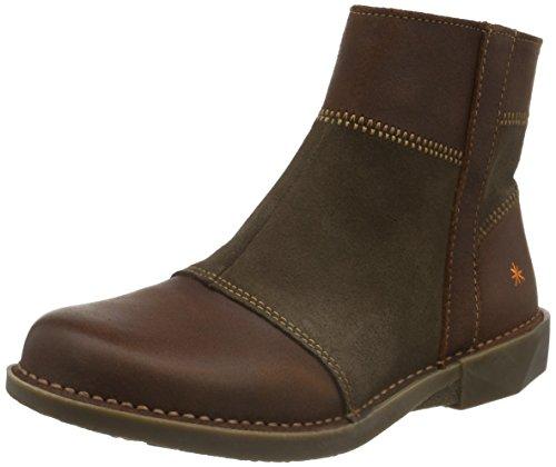 Art WoMen Bergen Ankle Boots, Braun (Adobe) Brown (Wax Adobe)