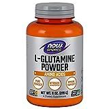 NOW Glutamine Pure Powder, 6-Ounces