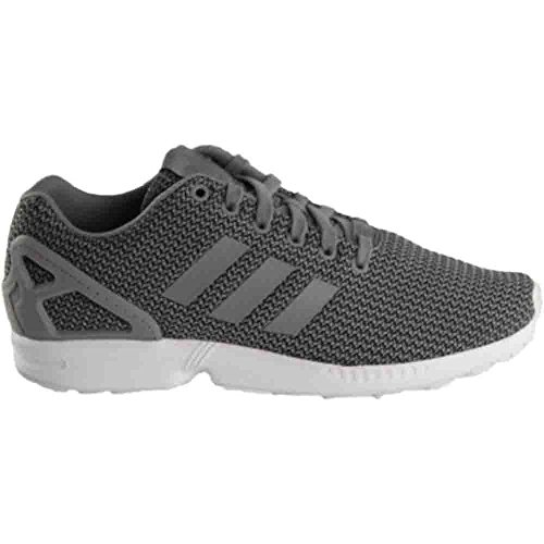 adidas Mens ZX Flux Solid Grey/Solid Grey Nylon Running Shoes 8.5 M US oobB96G