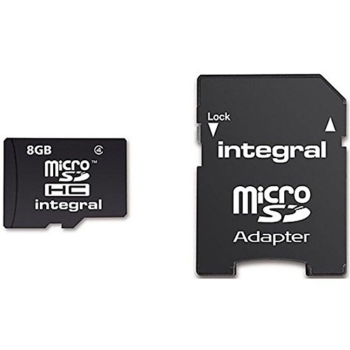 - Integral micro SDHC/XC Cards CL10 8GB - Ultima Pro - UHS-1 90 MB/s transfer