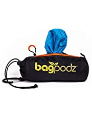 BagPodz Reusable Bag and Storage System - Caribbean Blue (Contains 10 Bags)