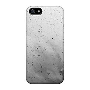 Aimeilimobile99 Scratch-free Phone Cases For Iphone 5/5s- Retail Packaging - White Black Space