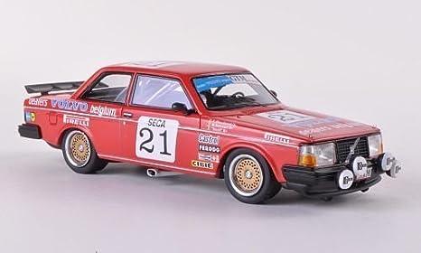 Volvo 240 Turbo Gr.A, No.21, equipo Delcourt, ETCC,
