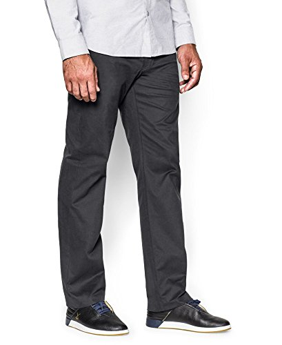 Under Armour Men's Performance Chino - Straight Leg, Black/B