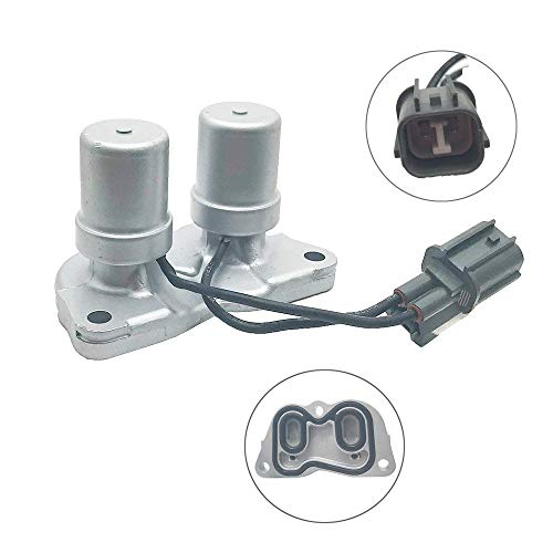 (Transmission Lock up Solenoid Shift Solenoid Assembly without Gasket for 1998-2002 Honda Accord 4 Cylinder 1997-2001 Honda Prelude 1997-1999 Acura CL 1995-1998 Honda Odyssey Replace OE#28300-PX4-003)