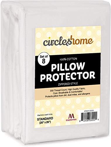 CIRCLESHOME Mastertex Zippered Pillow